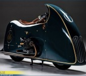 Крутой кастом проект на базе ретро мотоцикла BMW