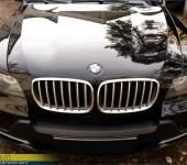 Ресницы на фары BMW X5 E70