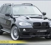 Аэродинамический обвес FLASH от Hamann на BMW X5 E70