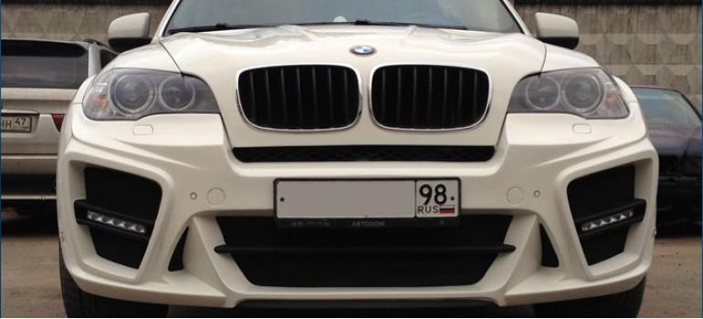 Аэродинамический обвес G-Power Typhoon для BMW E70 X5