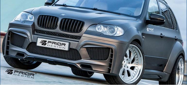 Аэродинамический обвес Приор Дизайн (Prior Design) на BMW X5 E70