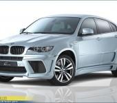 Аэродинамический обвес (тюнинг) Lumma на BMW X6 E71