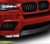 Накладка Vorsteiner на передний бампер БМВ ( BMW ) X6M E71