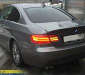 Спойлер в стиле CSL на багажник БМВ (BMW) E92 3-series