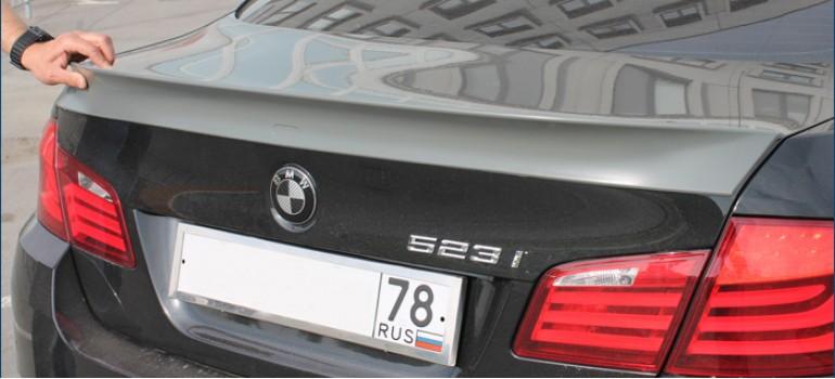 Спойлер на багажник AC Schnitzer на БМВ ( BMW ) F10