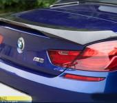 Спойлер на багажник для BMW 6-series в кузове F13
