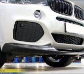 Карбоновый спойлер переднего бампера в стиле М Перформанс (M Performance) для БМВ (BMW) X5 F15