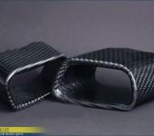 Карбоновые насадки на глушитель для БМВ (BMW) X5/Х6 F15/F16