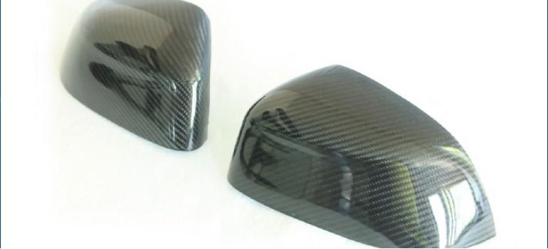 Карбоновые накладки на зеркала для БМВ (BMW) X5/Х6 F15/F16
