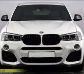 Аэродинамический обвес в стиле М Перформанс (M Performance) на BMW X3 F25