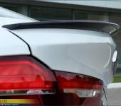 Лип-спойлер на багажник БМВ (BMW) X4 F26