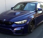 Капот BMW M3 GTS на 3 серию в кузове F30