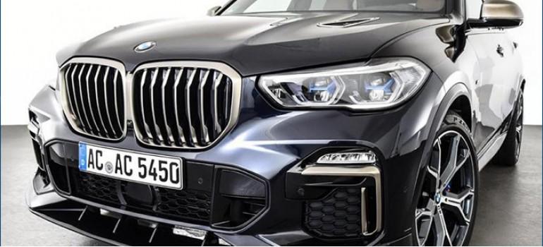 Легкий тюнинг AC Schnitzer на БМВ (BMW) X5 G05