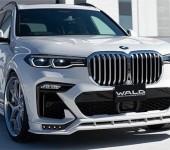 Аэродинамический обвес WALD на BMW X7 G07