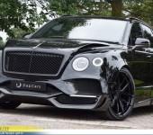 Аэродинамический обвес Onyx (Великобритания) на Бентли Бентайгу (Bentley Bentayga)