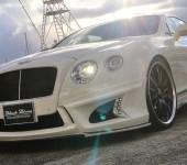 Аэродинамический обвес ВАЛЬД (WALD) на Бентли (Bentley) Continental GT 2