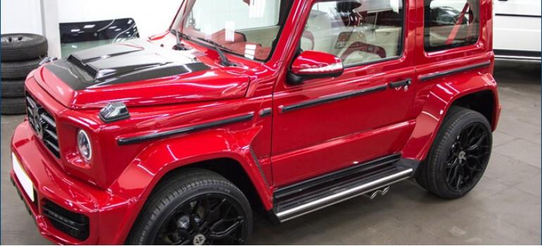 Бодикит для Сузуки Джимни (Suzuki Jimny) в стиле Mercedes G63 AMG Brabus