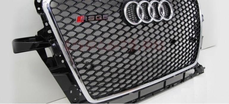 Решетка радиатора в стиле RSQ5 на Ауди (Audi) Q5 2012 - 2014 г.в.
