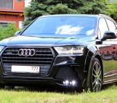 Аэродинамический обвес ANTARES на Audi Q7 2015+