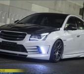 Аэродинамический обвес My Ride для Шевроле Круз (Chevrolet Cruze)