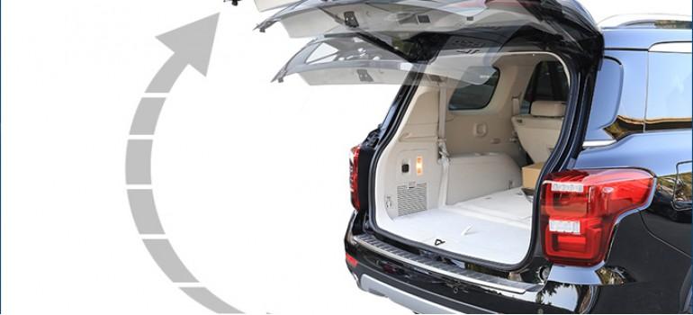 Электропривод открытия задней двери (багажника)