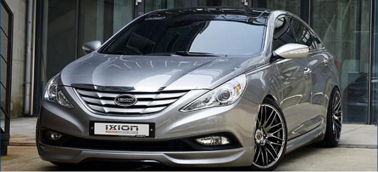 Комплект обвеса IXION на Hyundai Sonata YF