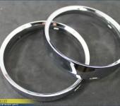 Хромированные колечки в приборную панель BMW E60 в стиле BMW M6