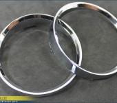 Колечки в приборную панель BMW E90/E91 в стиле BMW M3 хромированные