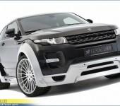 Аэродинамический обвес Hamann с расширением кузова ( wide-body ) для Range Rover Evoque