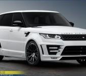 Аэродинамический обвес Люмма ( Lumma ) на Range Rover Sport 2014