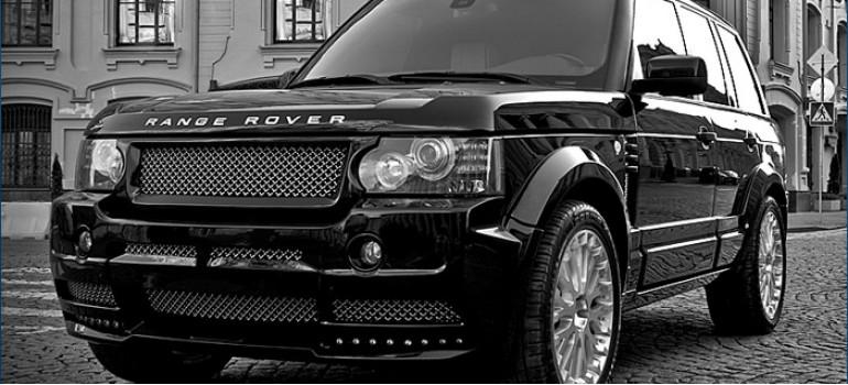 Аэродинамический обвес Iron Wing для Рейндж Ровера Вог ( Range Rover Voque ) 2011 модельного года