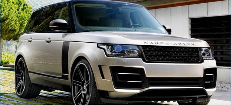 Аэродинамический обвес Excalibur для Рейндж Ровер Вог ( Range Rover Vogue ) 2013 модельного года