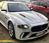 Аэродинамический обвес SCL на Мазерати Кваттропорте (Maserati Quattroporte)