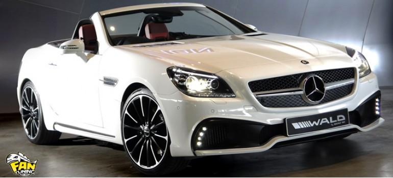 Аэродинамический обвес Валд (WALD) Black Bison на Мерседес (Mercedes Benz) SLK R172