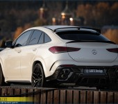 Аэродинамический обвес Larte Design на Mercedes GLE-Coupe C167