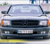 Аэродинамический обвес WALD для Mercedes W126 Coupe