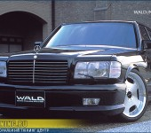 Реплика (копия) аэродинамического обвеса WALD на Mercedes W126