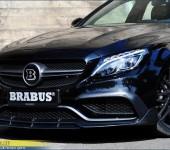 Аэродинамический карбоновый обвес Брабус (Brabus) на Мерседес (Mercedes) W205 AMG C65