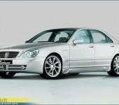 Аэродинамический обвес Лоринзер (Lorinser) F01 на Мерседес (Mercedes Benz) W220