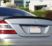 Спойлер на багажник на Мерседес ( Mercedes ) W221