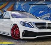 Аэродинамический обвес Вальд (WALD) для Мерседеса (Mercedes) W222