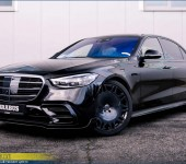Аэродинамический обвес Брабус (Brabus) на новый Мерседес (Mercedes) S класс W223