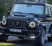 Аэродинамический обвес Брабус (Brabus) Widestar на новый Гелендваген (Mercedes G) W464