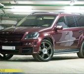 Копия ( реплика ) аэродинамического обвеса Брабус ( Brabus ) Widestar на Mercedes GL X164