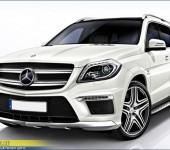 Аэродинамический обвес АМГ (AMG) на Мерседес ( Mercedes ) GL (X166)