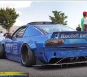 Спойлер в стиле Rocket Bunny на Nissan 200SX S13