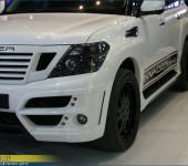 Аэродинамический обвес Invader N40 на Ниссан Патрол ( Nissan Patrol )