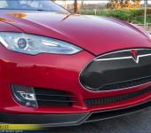Решетка радиатора из карбона для Теслы (Tesla) Model S