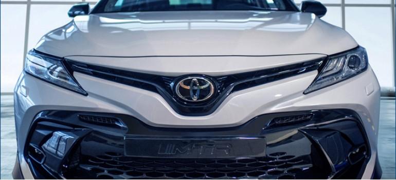 Аэродинамический обвес MTR на Тойоту Камри (Toyota Camry) V70