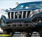Аэродинамический обвес Alterego на Toyota Land Cruiser Prado 150 рестайлинг